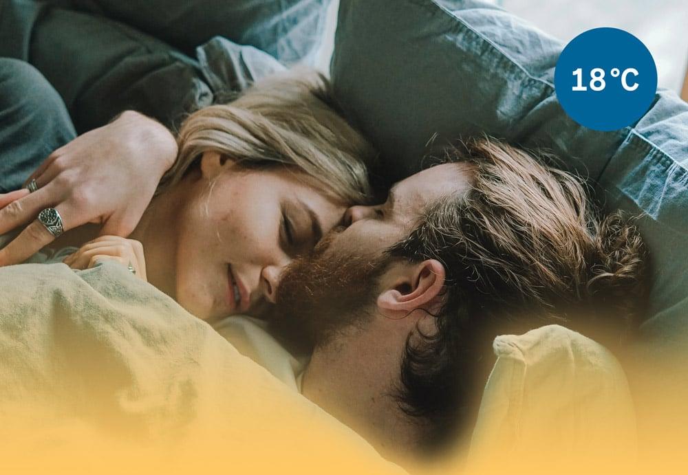 Ihmiset nukkuvat paremmin, kun laskevat lämpötilaa yöksi.